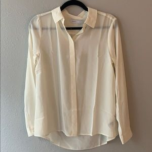 Grana white button up blouse